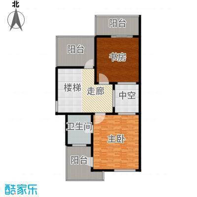 欣业嘉园231.30㎡排屋M三层户型