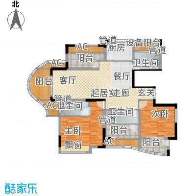 日顺汇锦园135.00㎡1A-1户型