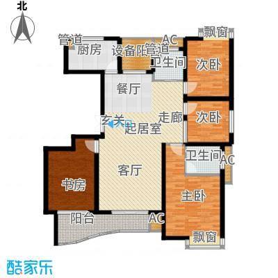 日顺汇锦园136.00㎡11东12西户型