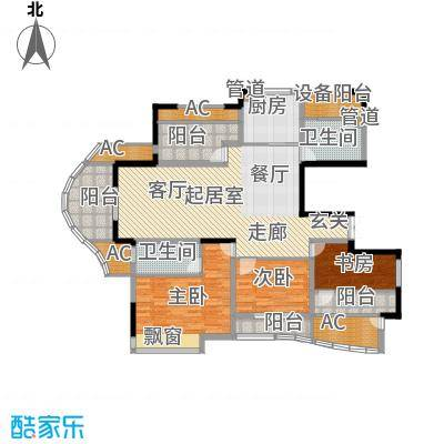 日顺汇锦园137.00㎡6A-1户型