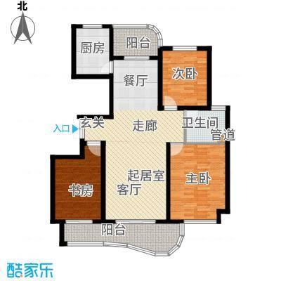 日顺汇锦园108.00㎡16中间套户型