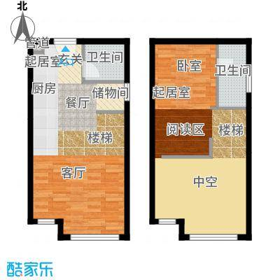 颐高数码港53.00㎡创业色阶I面积5300m户型