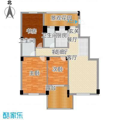 盛世豪庭136.80㎡B面积13680m户型