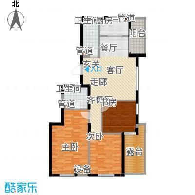 盛世豪庭142.20㎡D面积14220m户型