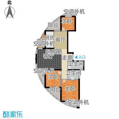 江南太阳城142.15㎡A2面积14215m户型