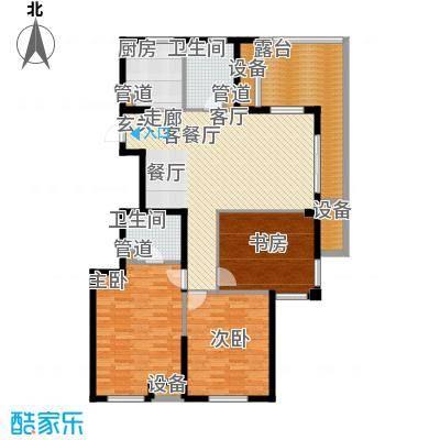 盛世豪庭147.00㎡A面积14700m户型