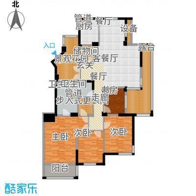 盛世豪庭173.88㎡H面积17388m户型