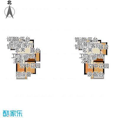 米兰风景89.00㎡三期景观高层C1户型