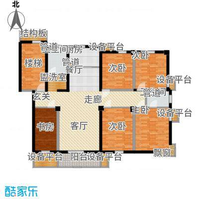 米兰花园二期149.00㎡普通住宅14面积14900m户型