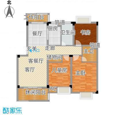 浙水阳光天地117.00㎡普通住宅B户面积11700m户型