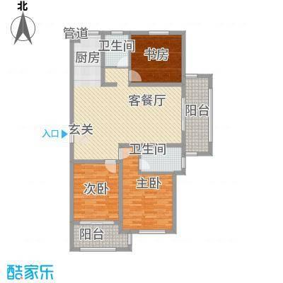 嘉盛龙庭139.00㎡高层B5户型