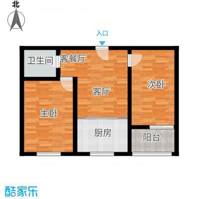 阳光新馨家园67.00㎡G1面积6700m户型