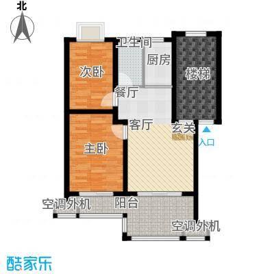 东林锦峰苑73.00㎡2面积7300m户型