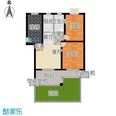 东林锦峰苑80.00㎡1面积8000m户型