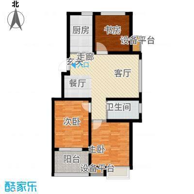 锦绣江南95.00㎡5#、7#小高层D户型