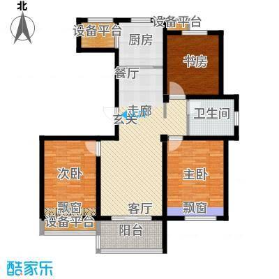 锦绣江南104.00㎡4#、8#小高层E户型