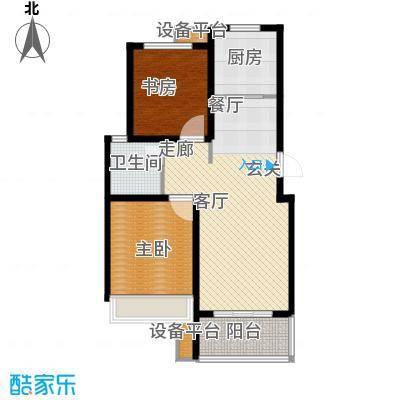 锦绣江南88.00㎡4#、8#小高层A户型