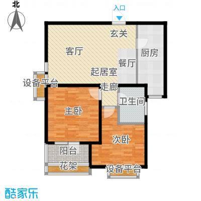 丽景蓝湾B区6#A3户型