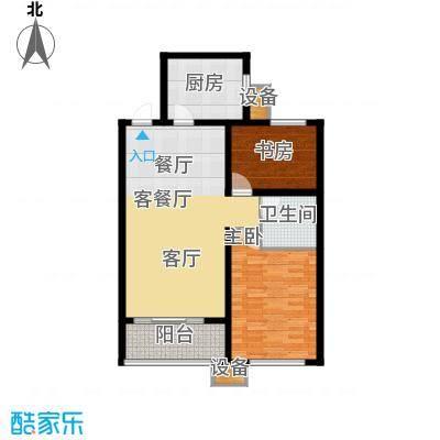 和美鑫苑90.00㎡5#楼标准层已售完C3户型