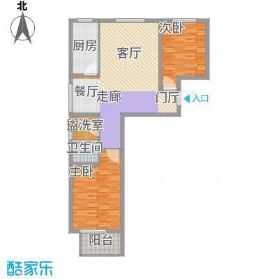 文津花园103.00㎡L-1户型