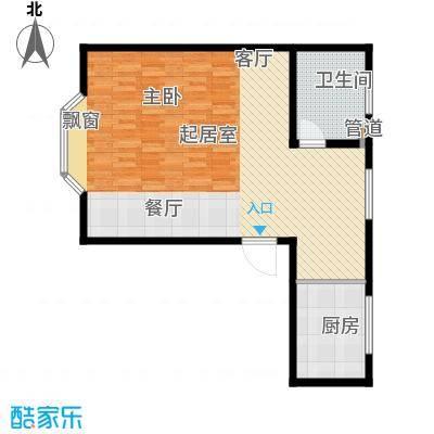 水郡花都78.91㎡公寓58#B户型