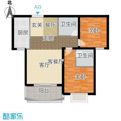 崇城国际89.68㎡B11户型