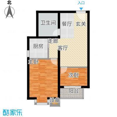 吉隆公寓72.18㎡C户型