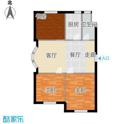 德凯凯悦公寓75.00㎡德凯・凯悦公寓A户型