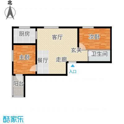吉隆公寓92.47㎡A户型