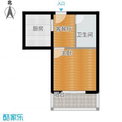 吉隆公寓43.13㎡已售完D户型