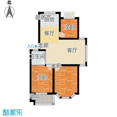 广天青城雅居89.00㎡29户型