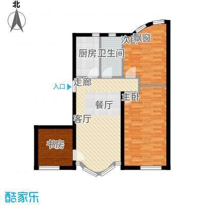 德凯凯悦公寓78.00㎡德凯・凯悦公寓B户型