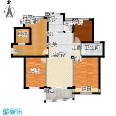 碧海莲缘115.00㎡四期小高层D户型