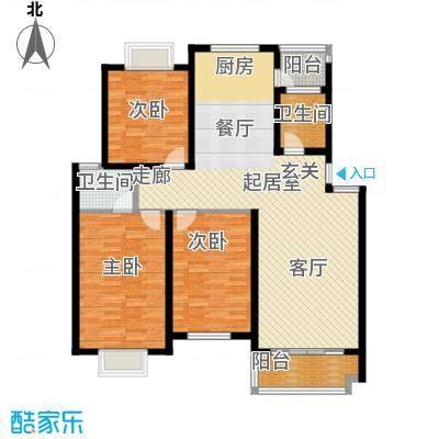 广天青城雅居126.00㎡30户型