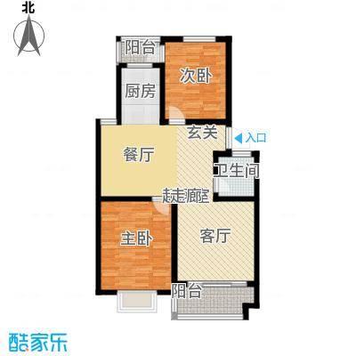广天青城雅居89.00㎡28户型