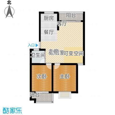 广天青城雅居89.00㎡27户型