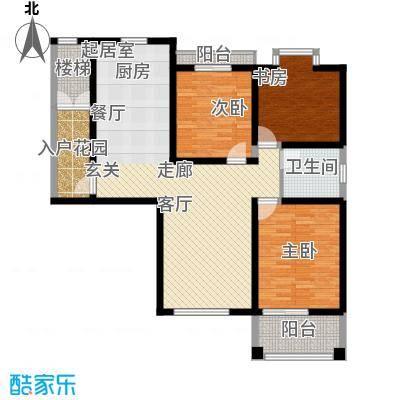 新悦润居115.00㎡B3户型