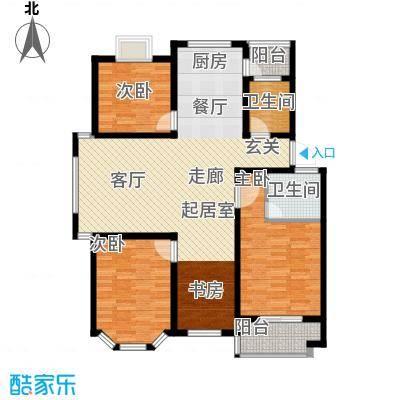 广天青城雅居122.00㎡26户型