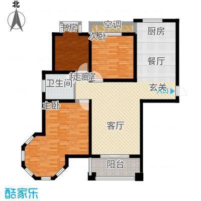 新悦润居128.00㎡B1户型