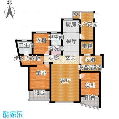 鸿城铂兰湾152.00㎡鸿城・铂兰湾M户型