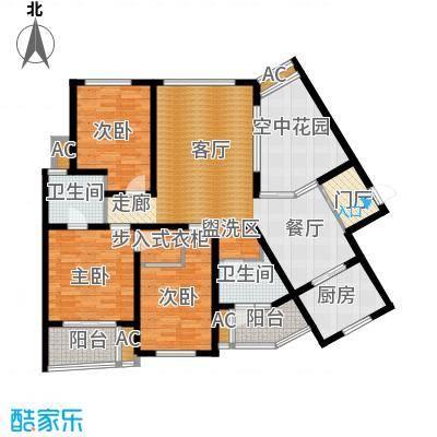鸿城铂兰湾141.00㎡鸿城・铂兰湾J户型