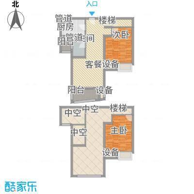 鸿城铂兰湾115.00㎡鸿城・铂兰湾D户型