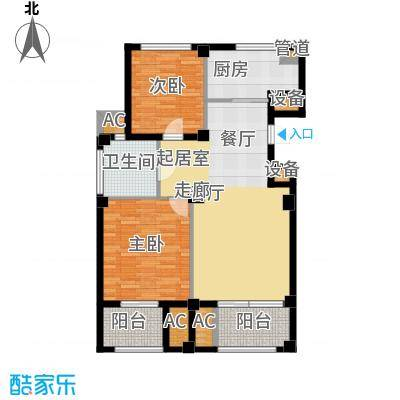 东方公寓96.00㎡3号楼A户型