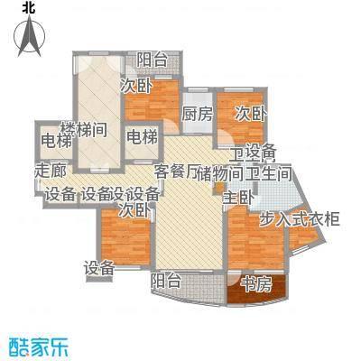 中通翡翠公馆135.00㎡中通・翡翠公馆户型