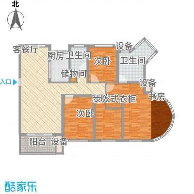 中通翡翠公馆138.00㎡中通・翡翠公馆户型