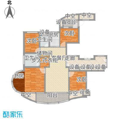 中通翡翠公馆140.00㎡中通・翡翠公馆户型