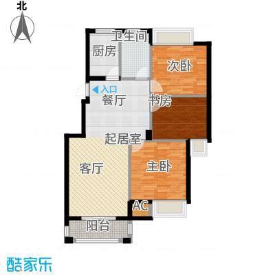 皇马公寓110.00㎡C2#5#户型