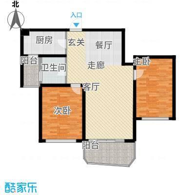 国际中港城117.06㎡7栋4-12F/E室户型