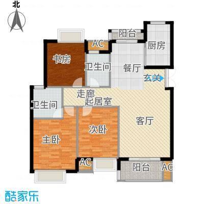 皇马公寓130.00㎡B2户型