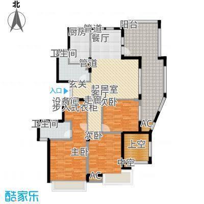 皇马公寓140.00㎡B4户型